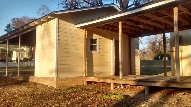 100 new camp utility room outside
